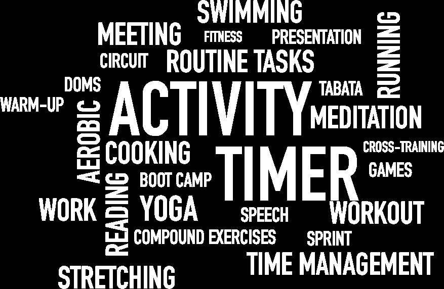 app Daily Activity Timer sport work hobbies