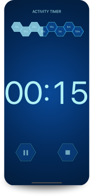 app Daily Activity Timer countdown