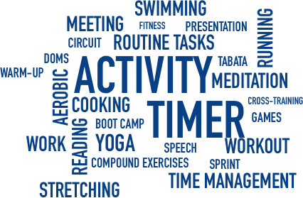 Activity Timer Use Everywhere