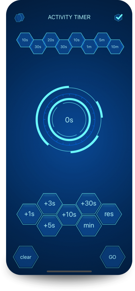 app Daily Activity Timer create