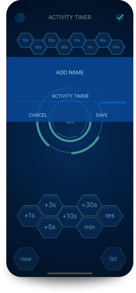 app Daily Activity Timer name