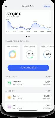 app TripExBud expenses